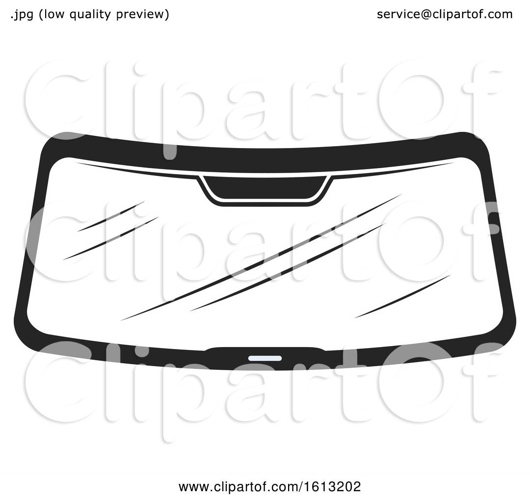 Clipart Of A Windshield Automotive Design
