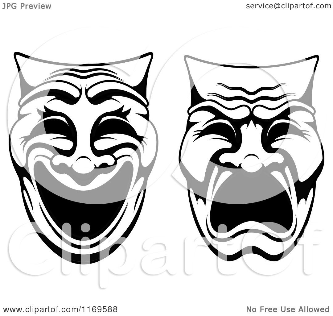 Theater Mask Clipart
