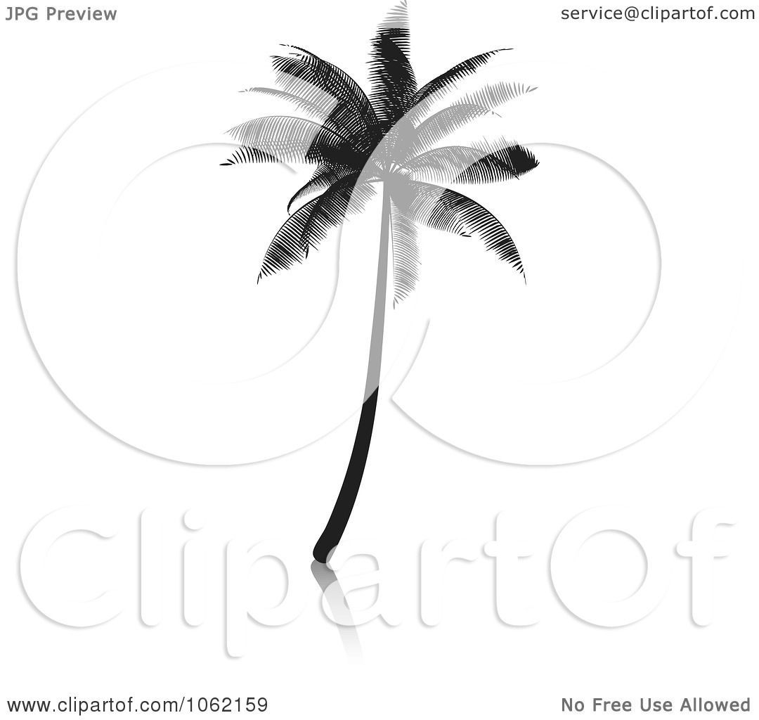 Clipart Palm Tree Silhouette