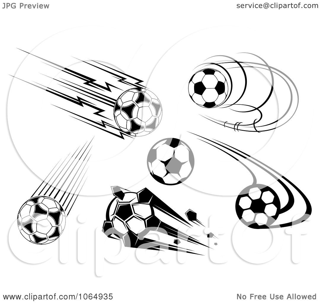Clipart Soccer Icons 1