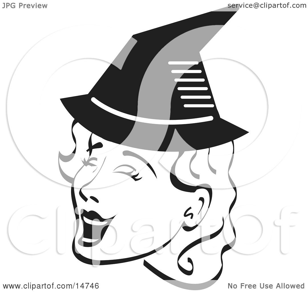 Clipart Witch