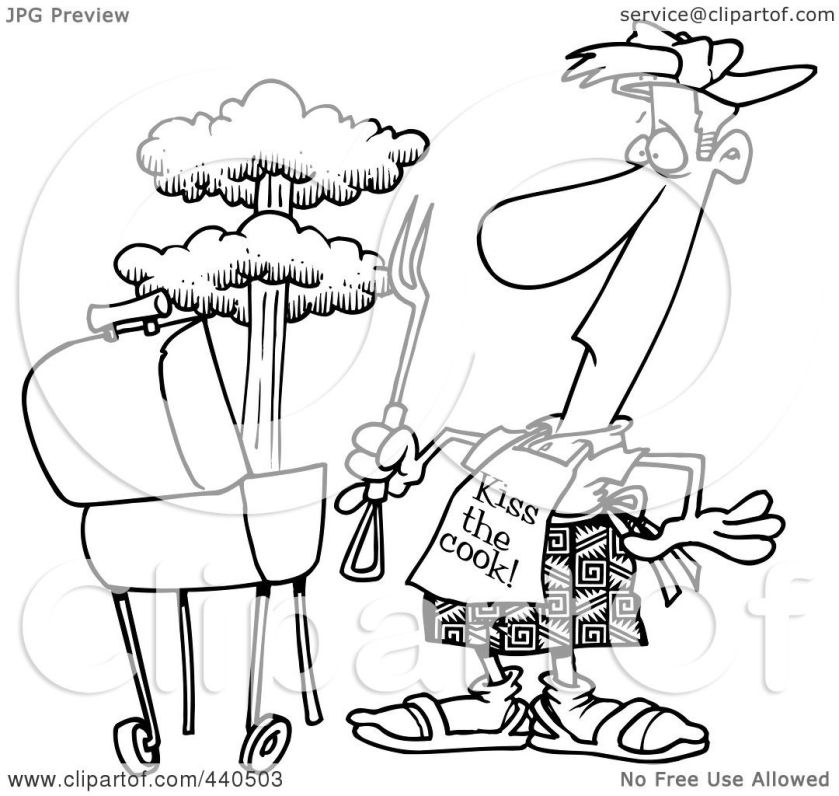 barbecue grill coloring pages coloring pages