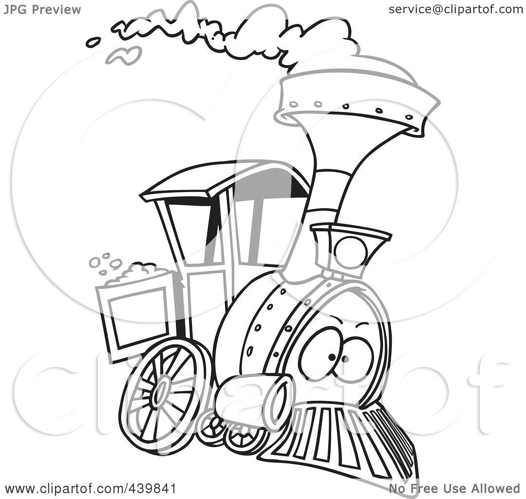 Small Engine Cartoon