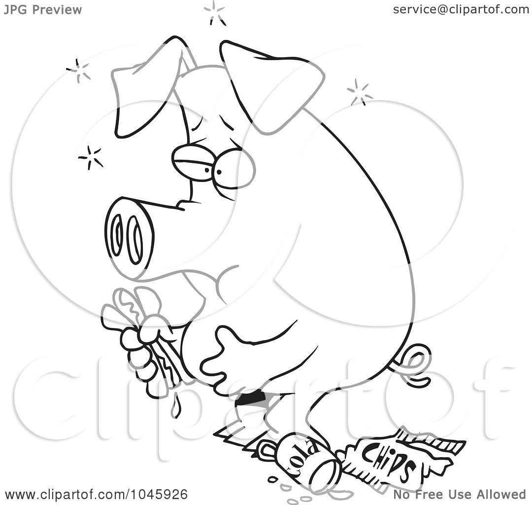 Pin Pig Eating Cake Ideas And Designs