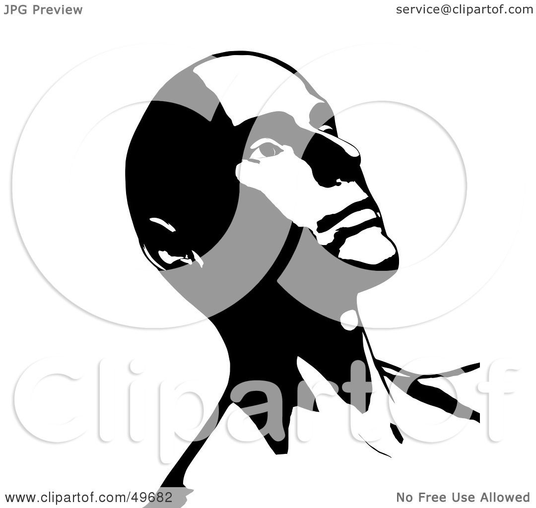 Royalty Free Rf Clipart Illustration Of A Bald Man