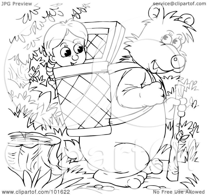 royaltyfree (rf) clipart illustration of a coloring page