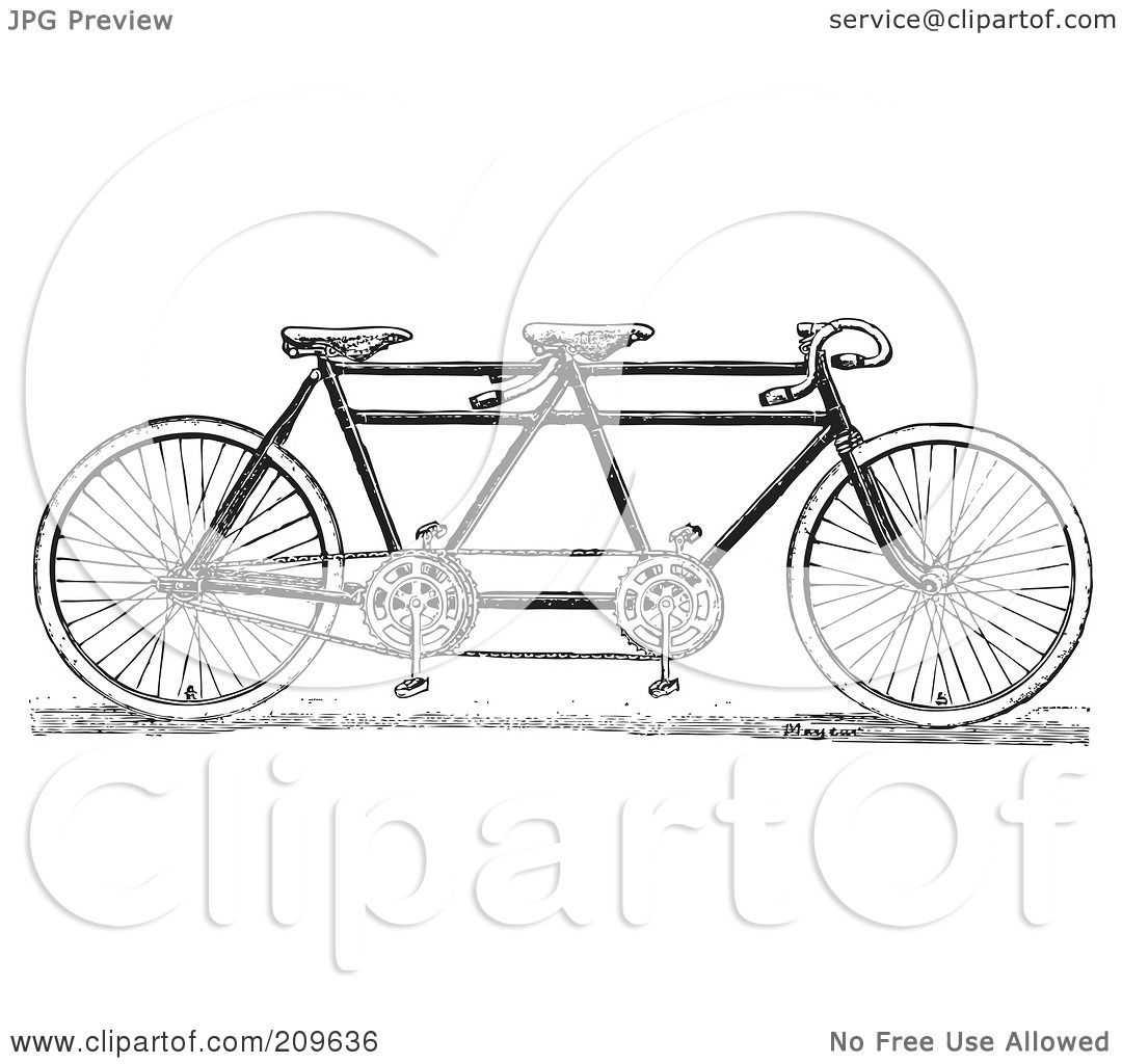 Royalty Free Rf Clipart Illustration Of A Retro Black