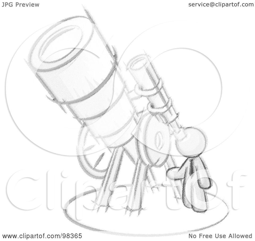 Clip Art Man Looking At The Stars Cliparts