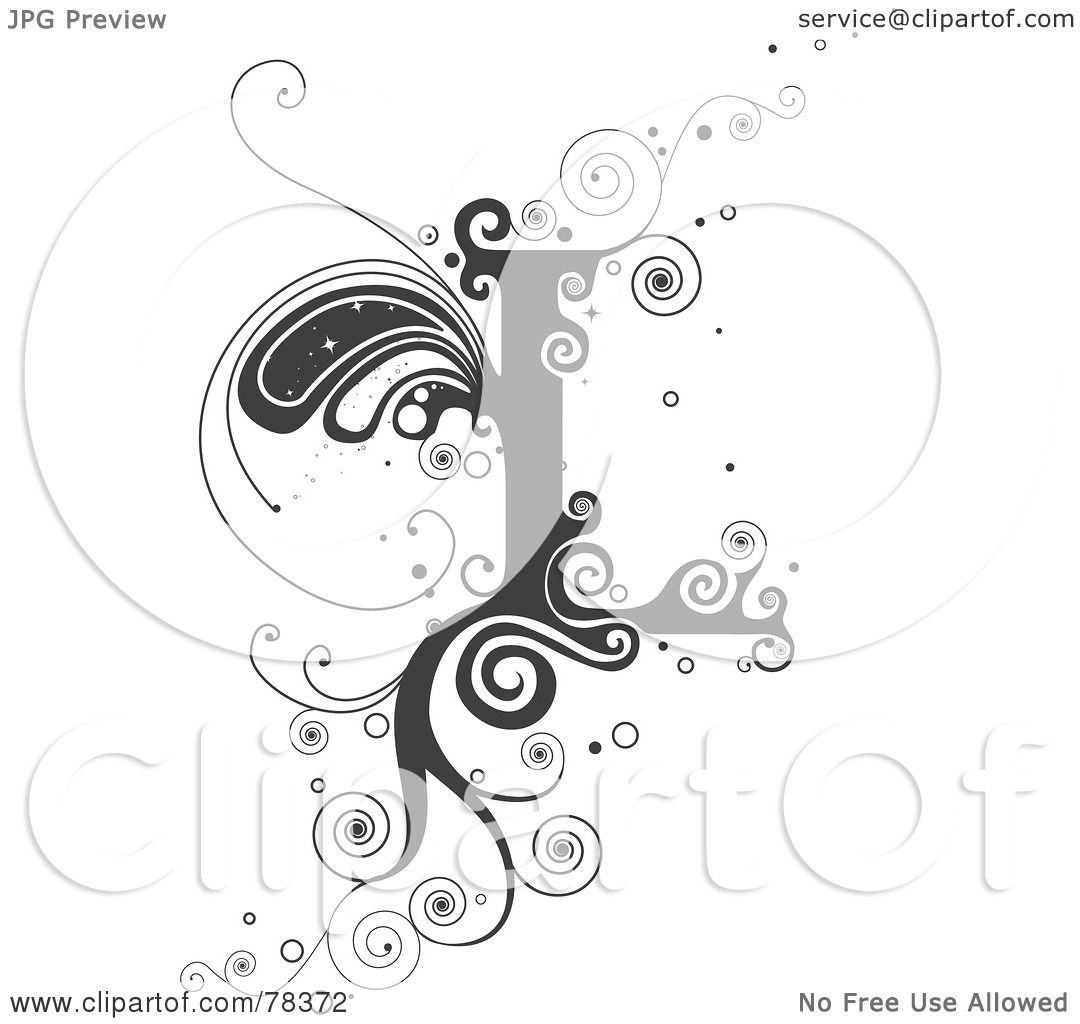 Royalty Free Rf Clipart Illustration Of A Vine Alphabet