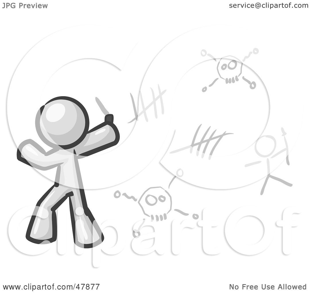 Royalty Free Rf Clipart Illustration Of A White Design