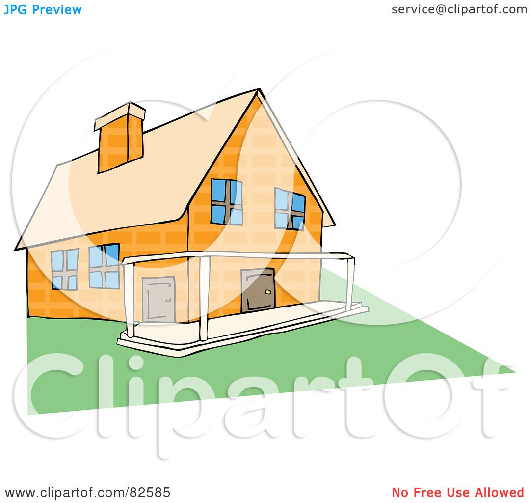 Royalty-Free (RF) Clipart Illustration of a Yellow Stone ... (1080 x 1024 Pixel)