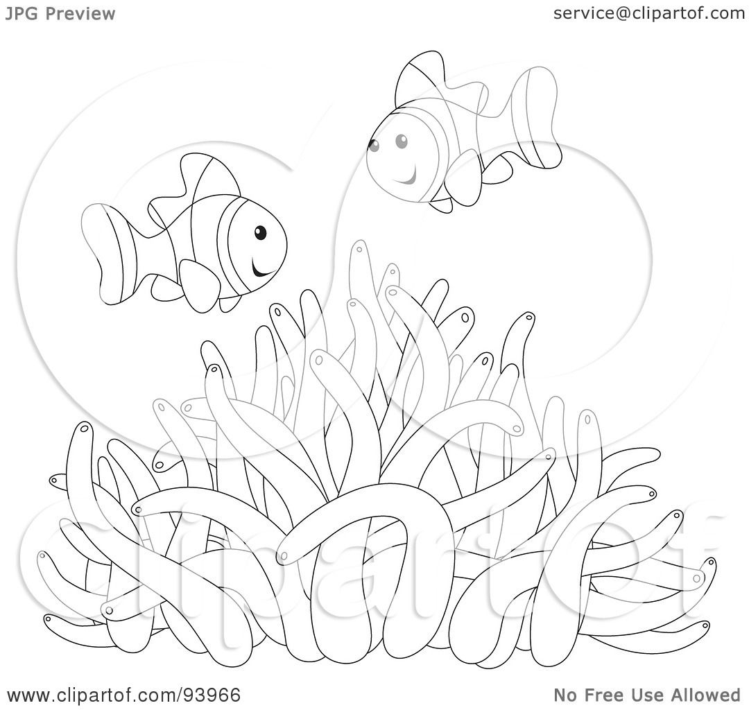 Royalty Free Rf Clipart Illustration Of An Outline Of