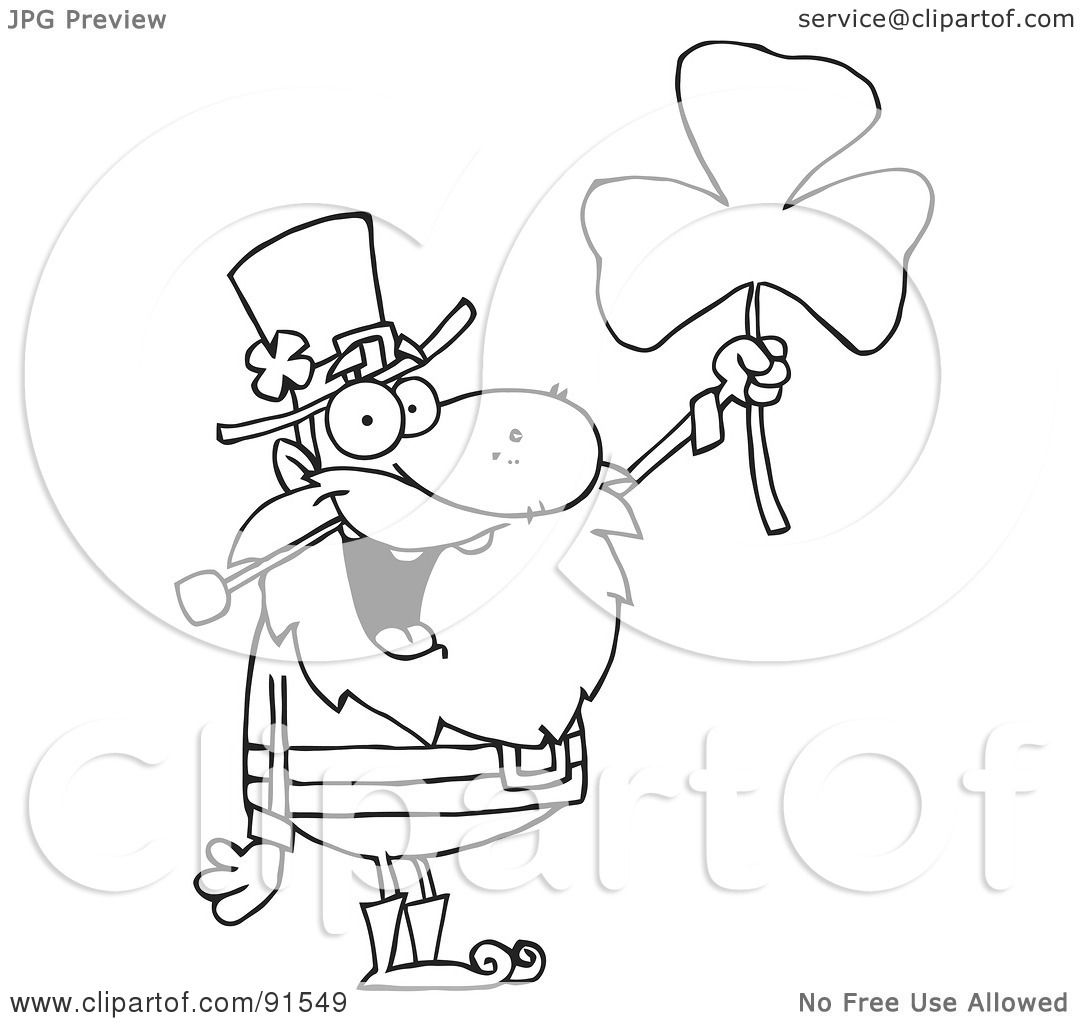 Royalty Free Rf Clipart Illustration Of An Outlined Male