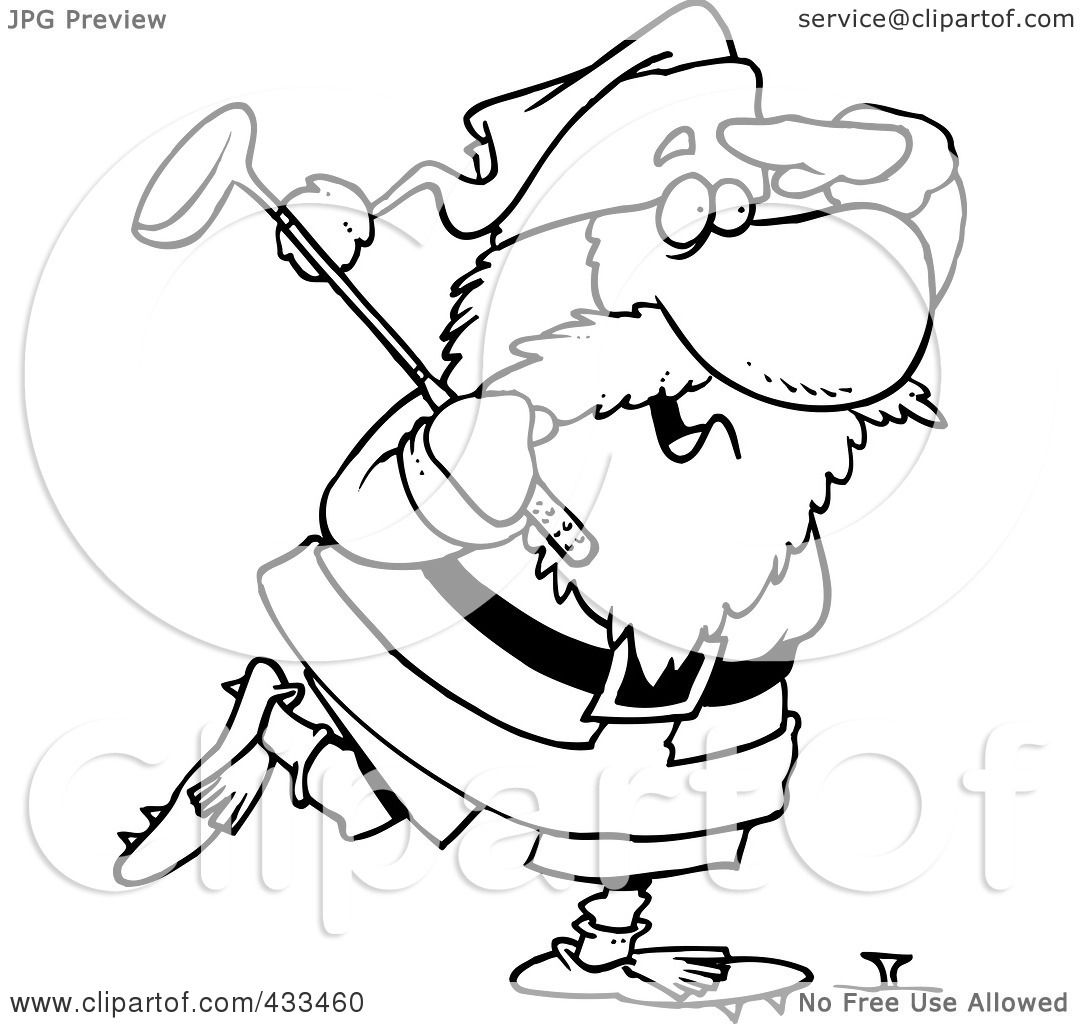Royalty Free Rf Clipart Illustration Of Coloring Page