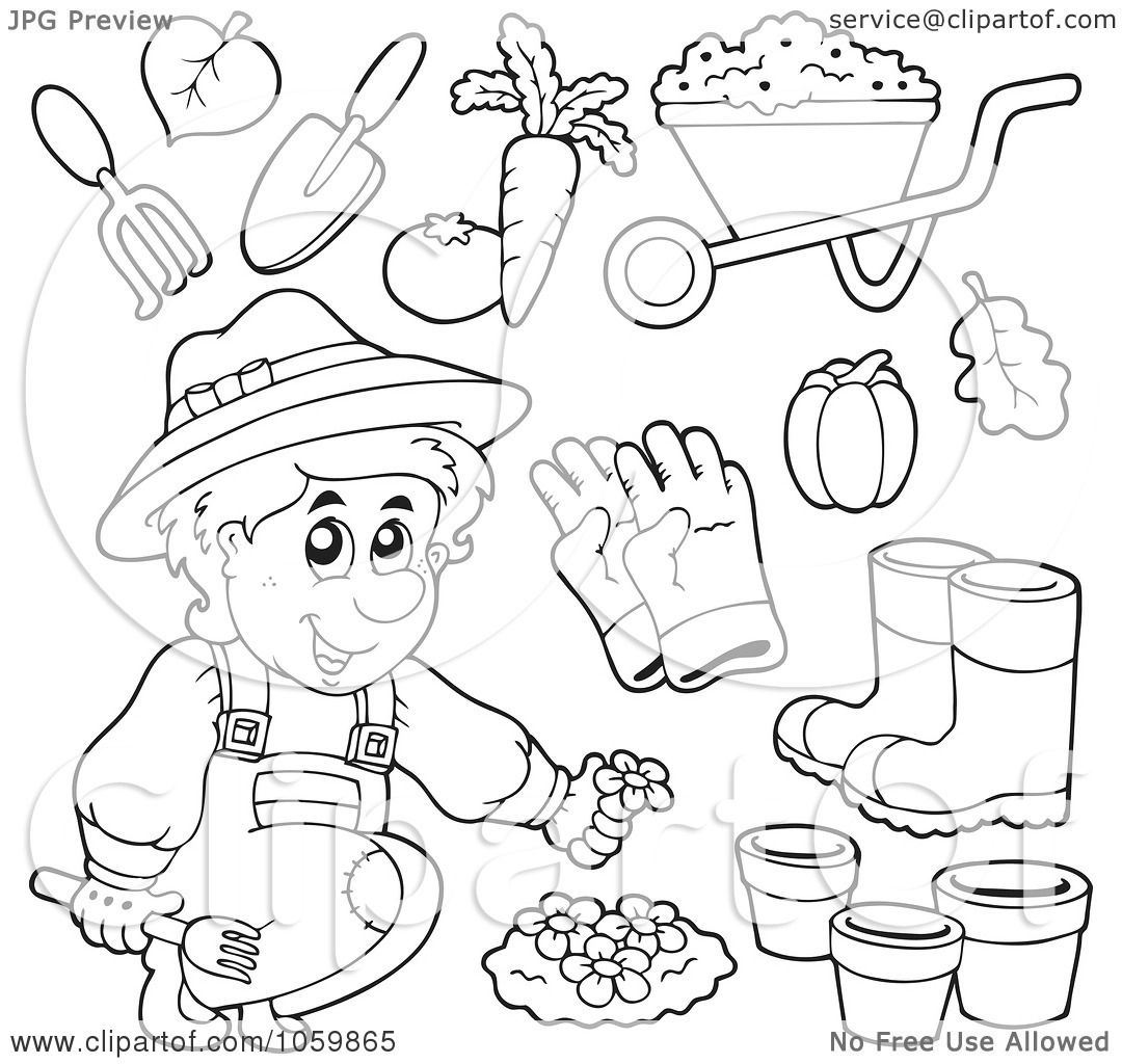 Gardening Worksheet For Gardeners