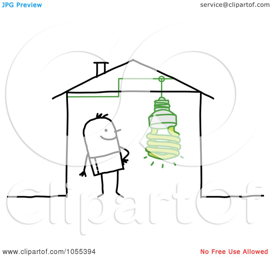 Royalty Free Vector Clip Art Illustration Of A Stick Man
