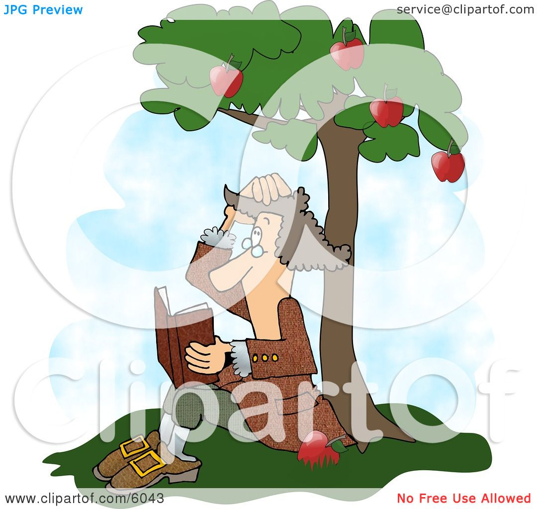 Sir Isaac Newton S Universal Law Of Gravitation Clipart