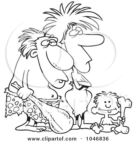 https://i2.wp.com/images.clipartof.com/small/1046836-Cartoon-Black-And-White-Outline-Design-Of-A-Caveman-Dad-Mom-And-Son.jpg