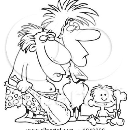 https://i2.wp.com/images.clipartof.com/small/1046836-Cartoon-Black-And-White-Outline-Design-Of-A-Caveman-Dad-Mom-And-Son.jpg?resize=454%2C450