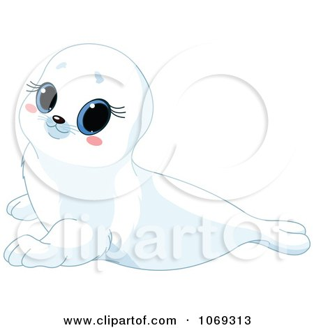 clipart white baby royalty free vector illustration by