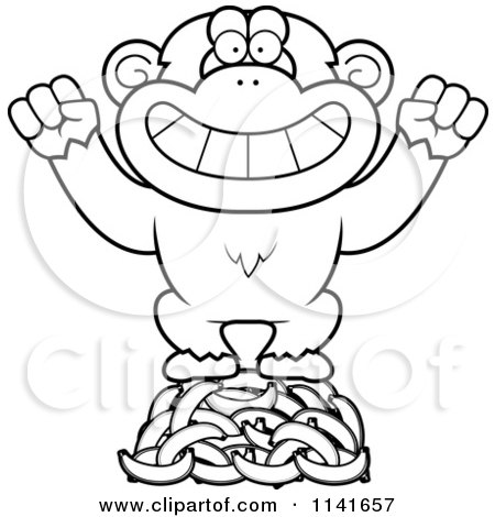 chimpanzee coloring page vocal e minuscula colouring pages page 3
