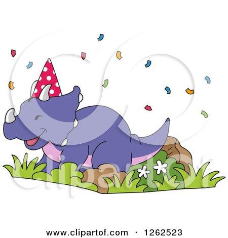 Clipart Bbq Birthday Party Royalty Free Vector