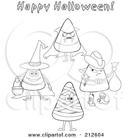 candy corn coloring pages free coloring pages now