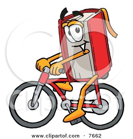 Livro pedalando uma bicicleta