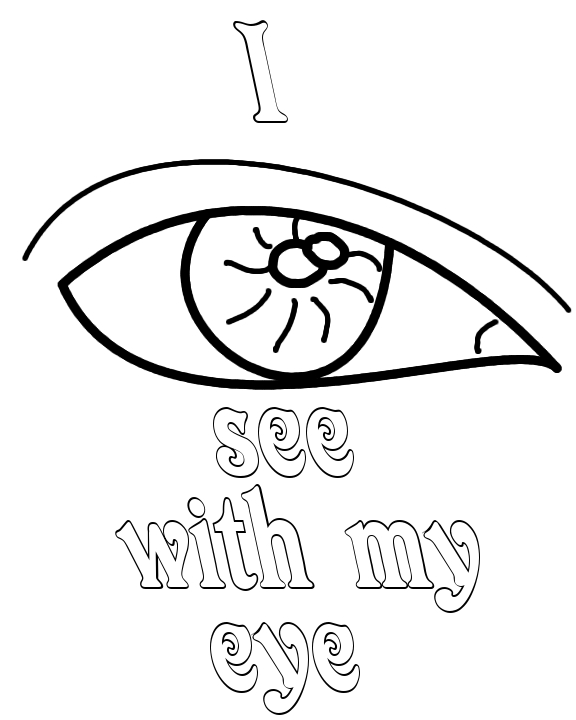 senses coloring page five senses coloring pages jpg