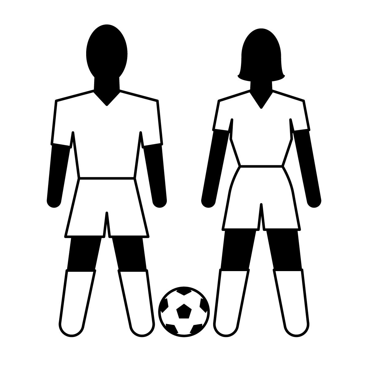 Girl Soccer Player Clipart Clipart Panda