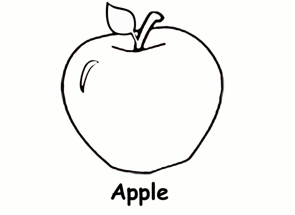 apple basket coloring page preschool apple coloring pages tree page