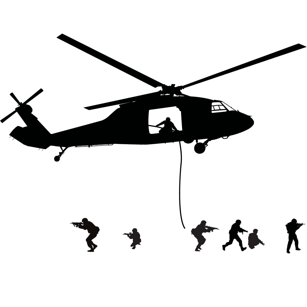 Army Helicopter Silhouette Clipart Panda