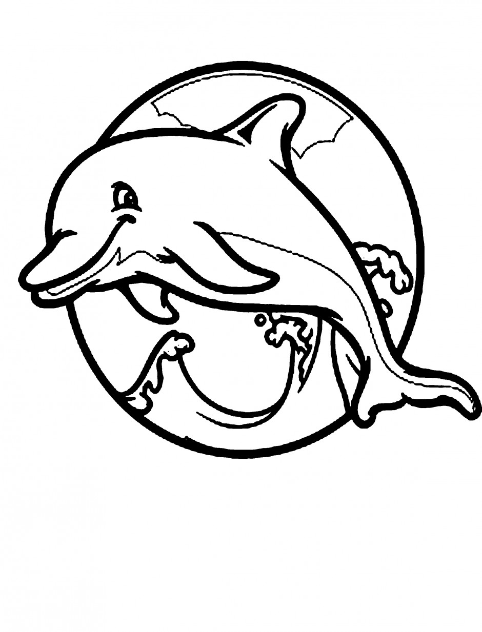 pages dolphin cool and cute coloring for kids dolphin coloring pages