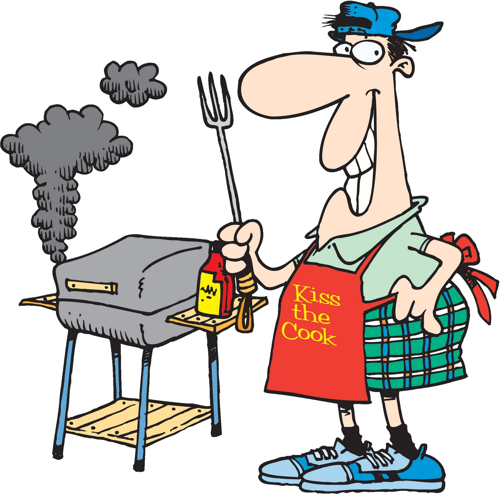 Image result for clipart grilling