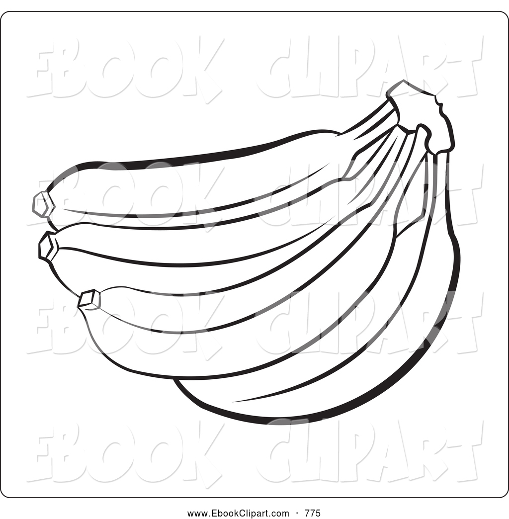 banana tree coloring page coloring pages