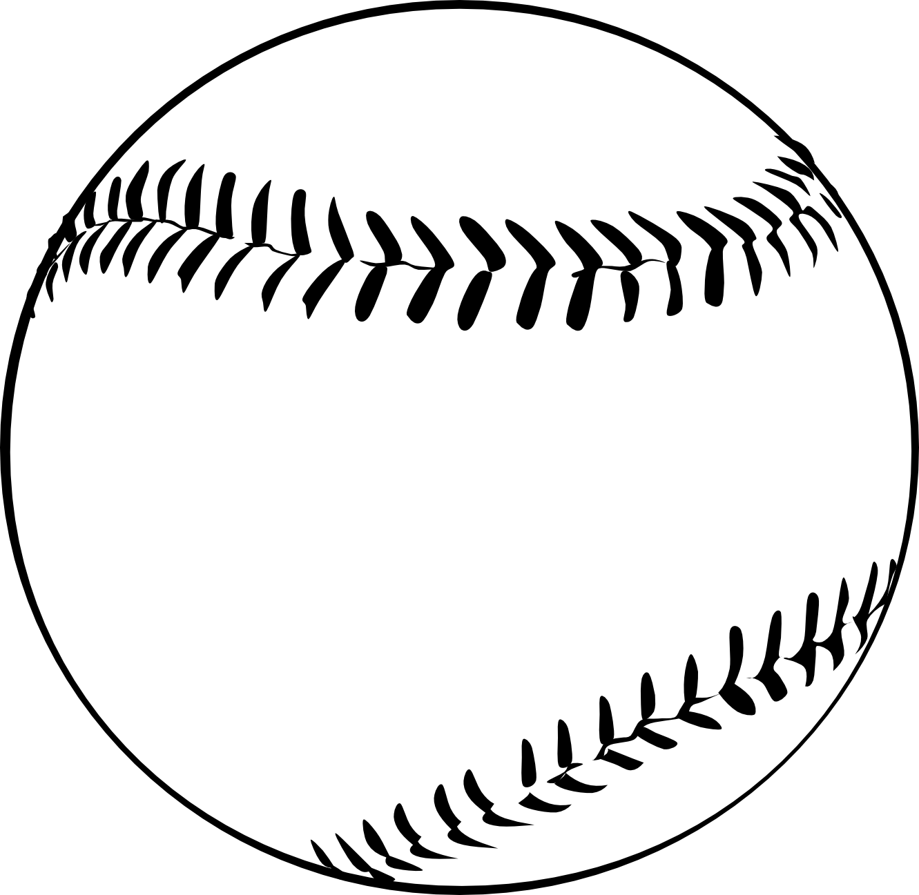 Baseball Hat Clipart Black And White