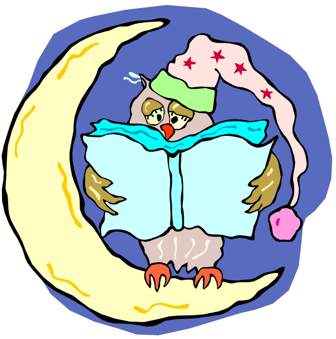bedtime clip art for pinterest