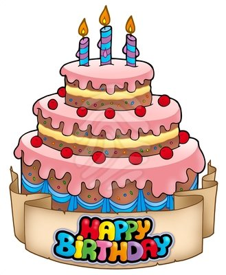 Birthday Cake Clipart Clipart Panda Free Clipart Images