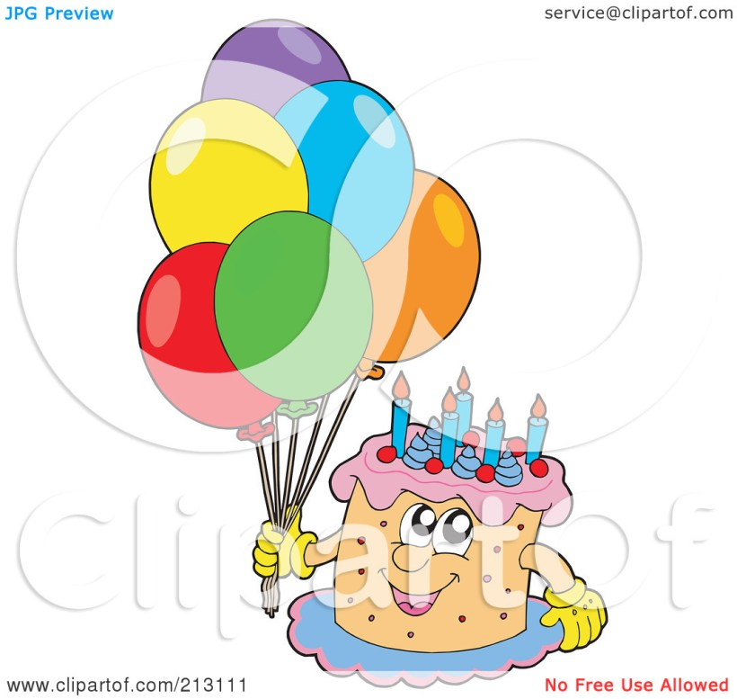 Free Pictures Of Birthday Balloons And Cakes Bedwalls
