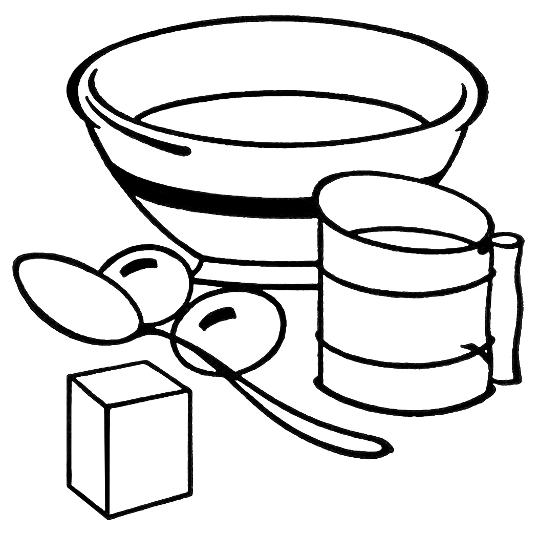 Lunch Box Clipart Black And White Clipart Panda