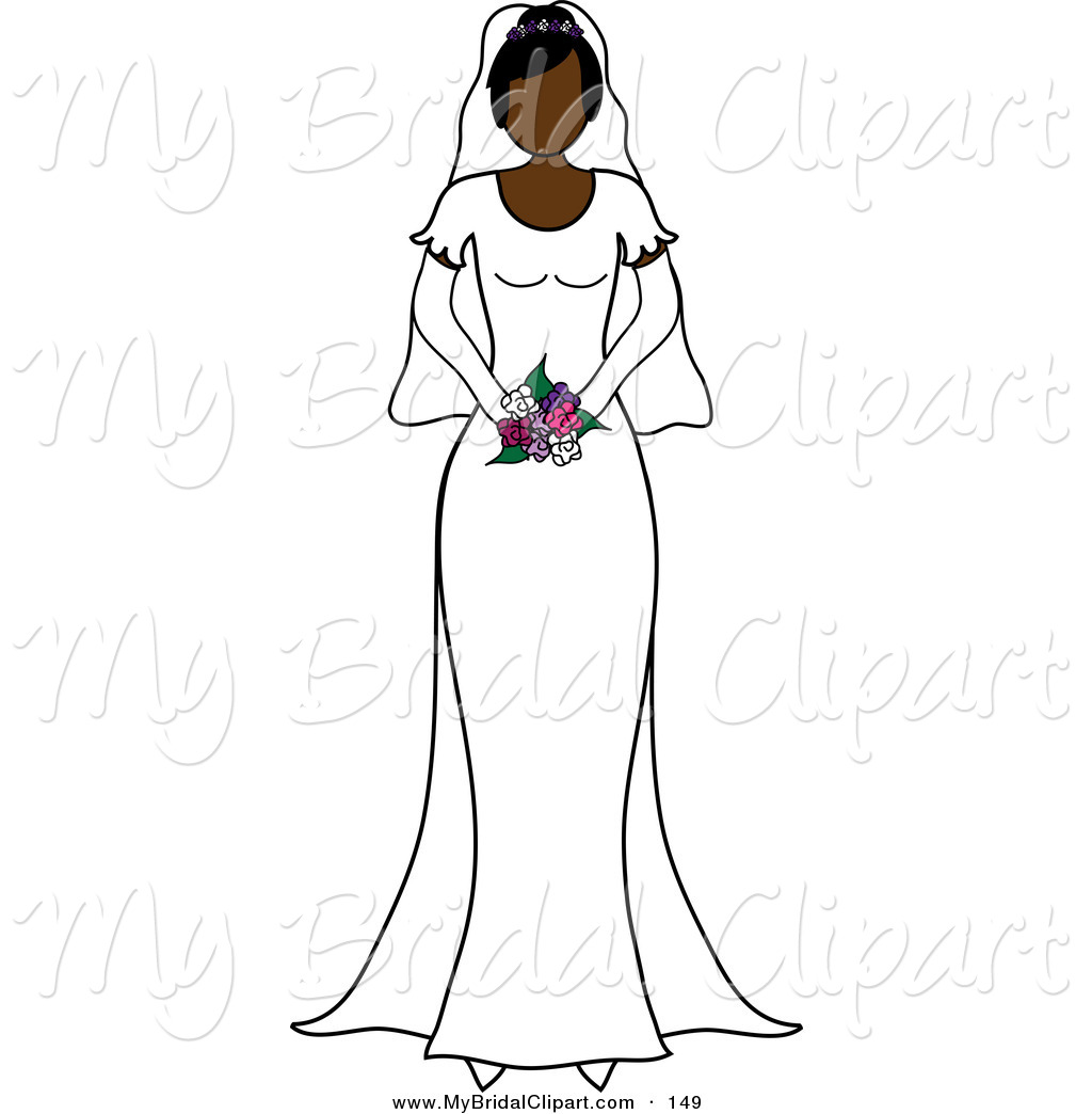 Bride Clipart Black And White Clipart Panda