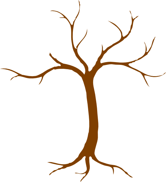 brown bare tree clipart tree hi png