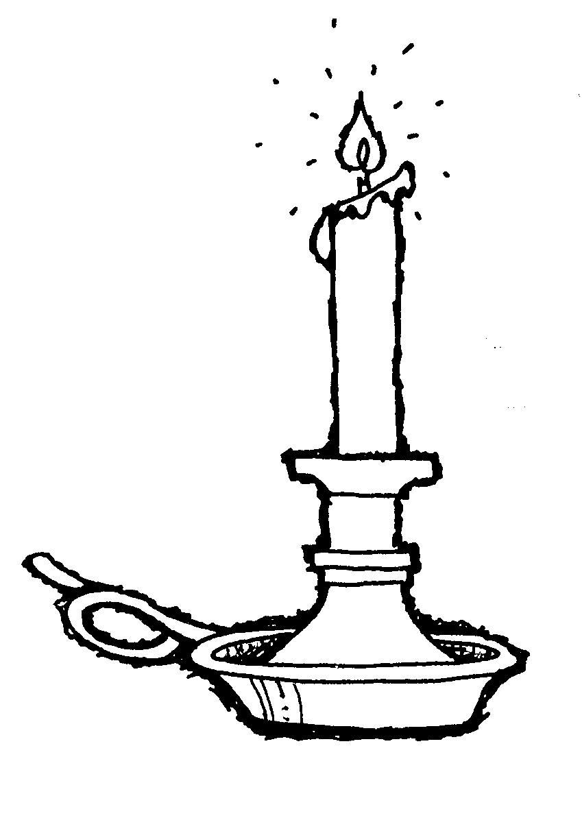 Printable Candlestick Picture