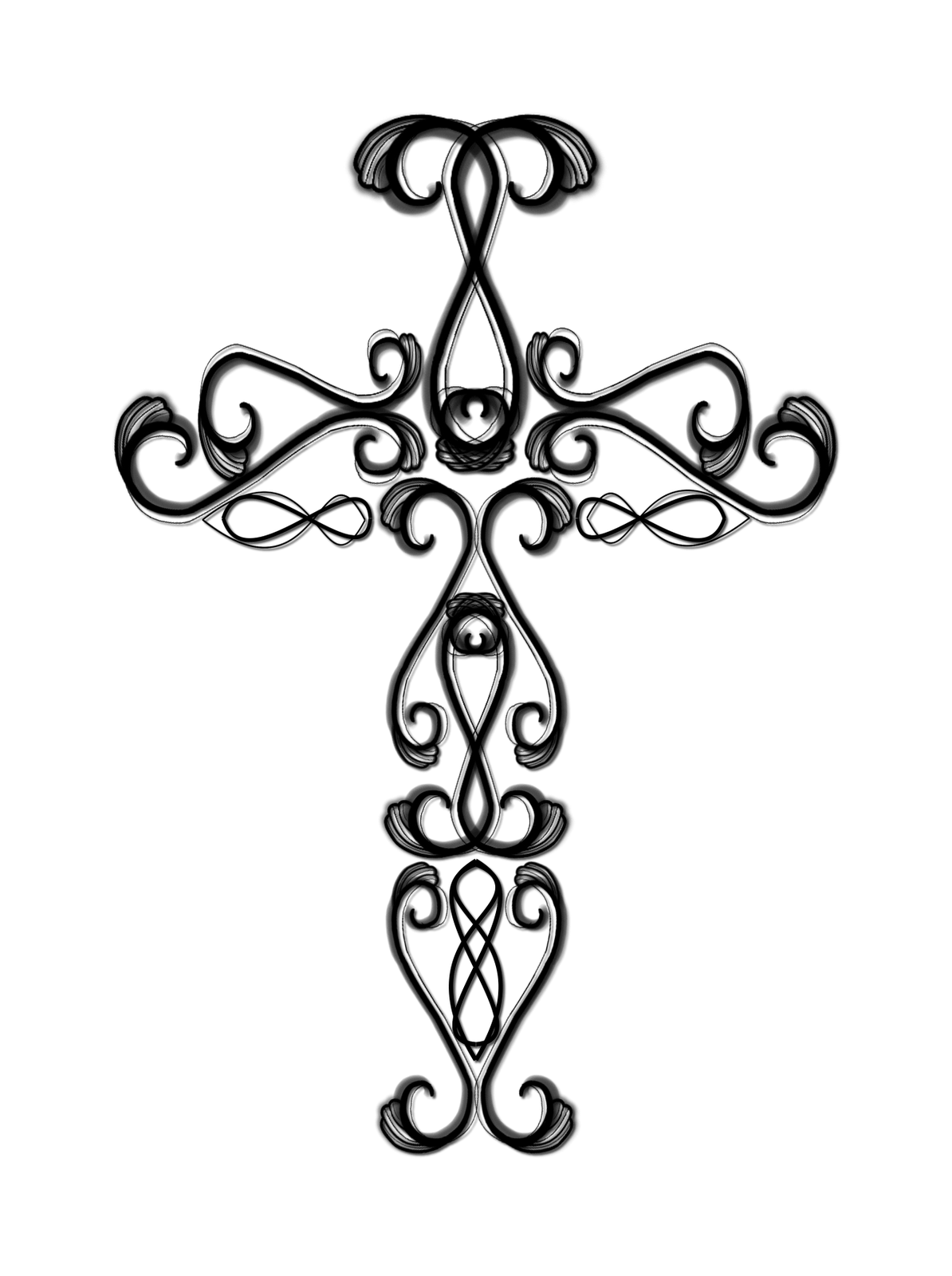 Catholic Cross Drawing Clipart Panda