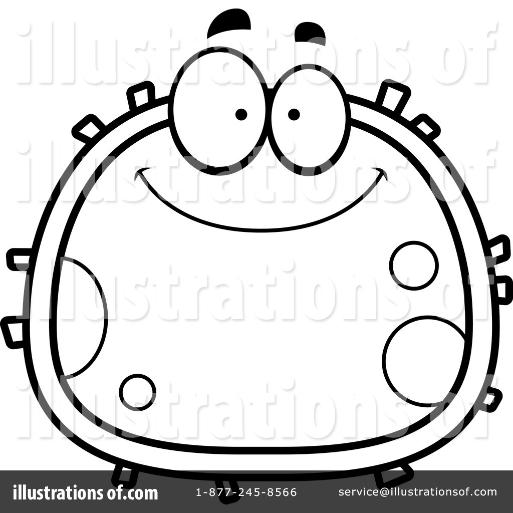 Cell Diagram Clipart