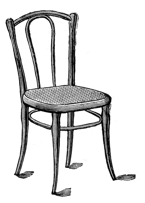 Chair Clip Art Black And White Clipart Panda