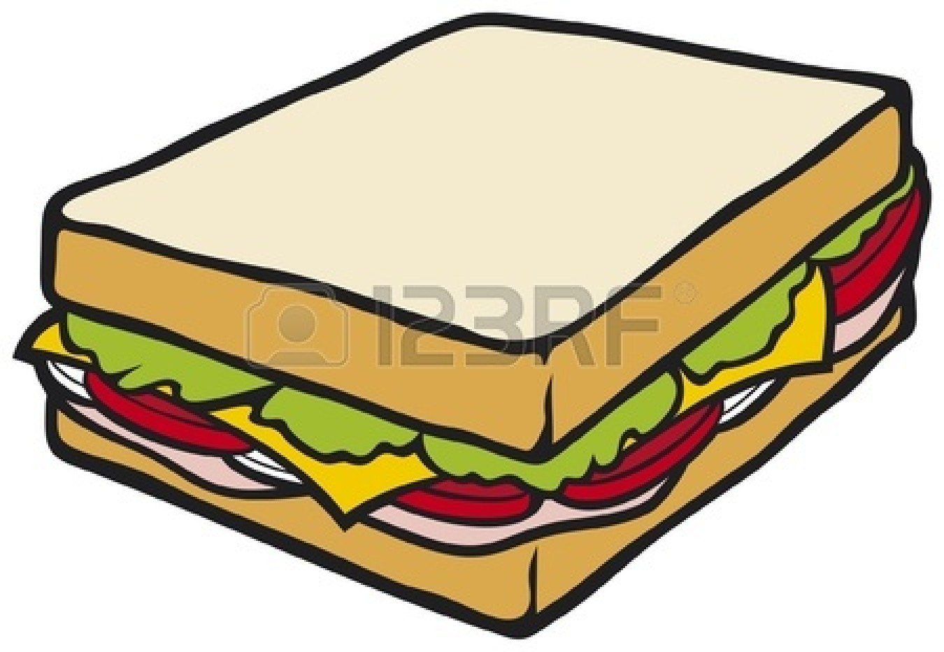 Cheese Sandwich Clipart Clipart Panda