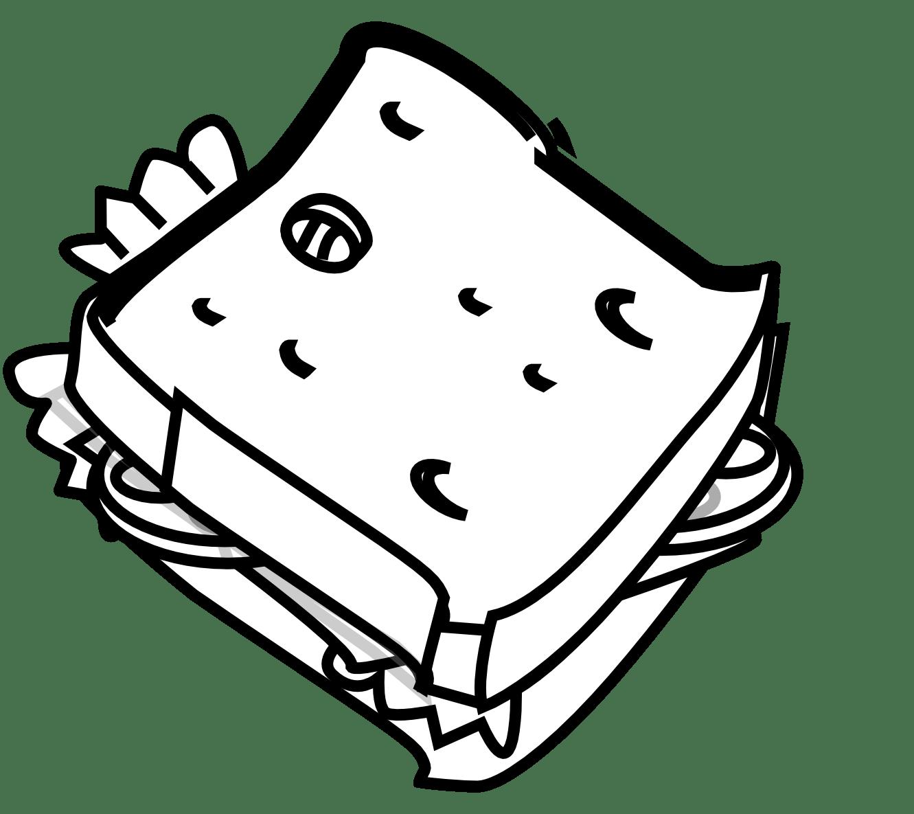 Cheese Sandwich Clipart Clipart Panda