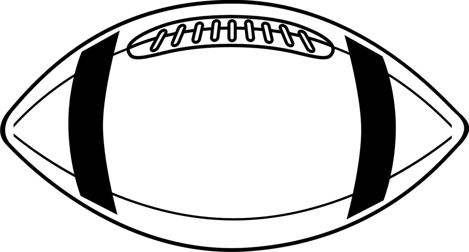 Clip Art Football Field Black And White