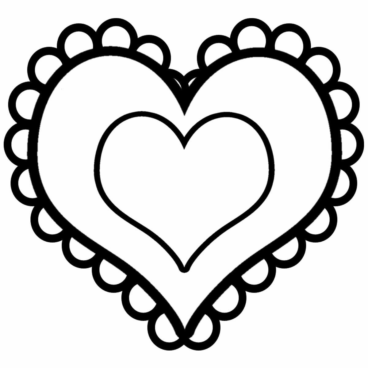 Clip Art Heart Black And White Clipart Panda